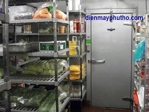 Thiết kế lắp đặt kho lạnh thực phẩm chất lượng, giá rẻ, uy tín